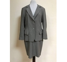 M&S Marks & Spencer Skirt Suit Grey Size: 12