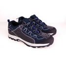 M&S Collection Active Leather Walking Shoes Blue Size: 6.5