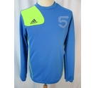 Adidas Sports top blue and green Size: S