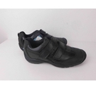 NWOT Marks & Spencer Leather Trainers Size 1.1/2 Black Size: 11.5