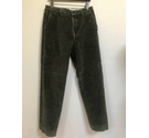 Barbour Corduroy Tapered Trousers Green Size: 32""