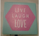 Love Laugh Love compact Mirror