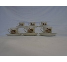 Palissy England Game Series Tea Cups