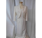 Jacques Vert Mother of The Bride Suit Cream Size: 8