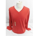 M&S Marks & Spencer Man s Jumper Size Large BNWT Coral Size: L