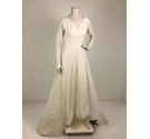 Unbranded All Lace Wedding Dress White Size: S
