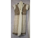 Unbranded 3 piece Asian wear white Size: S