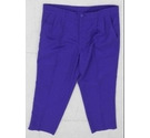 Dunlop Golf trousers purple Size: 36""