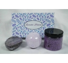 Craftiela Lavender Heaven Bath Crystals, Soap and Bath Bomb