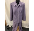Frankenwalder Suit Purple Size: 16