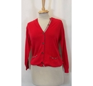 Burberry cardigan Red Size: 4