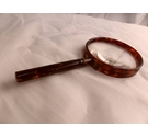 Victorian - Faux - Tortoise Shell - Magnifying Glass