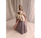 Large - A Mother's Touch - Nao by Lladro figure 33 cm tall - 1300