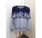 M&S Jumper Grey & Blue Size: S
