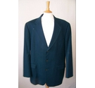 St Michael at Marks & Spencer Vintage Jacket Teal Size: L