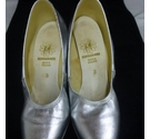 Silver heeled dance shoes Silver Supadance shoes Silver Size: 3