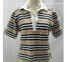 Burberry Polo-Shirt Multi-Coloured Size: 12