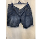 Yes Yes Shorts Denim Size: 22""
