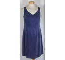 Monsoon Slimline Dress and Jacket Purple Size: 12
