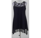 Dorothy Perkins Embellished mini-dress black Size: 8