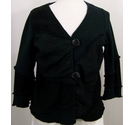 Orla from Tivoli Cotton blend cardigan Black Size: L