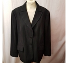 M&S Marks & Spencer Suit Jacket Black Size: 18