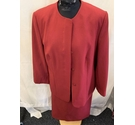 The Pearl Collection Skirt Suit Cherry Size: 18