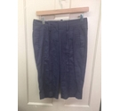 Calvin Klein Shorts/Crop Trousers Size 10 Grey Size: 29""