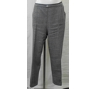 M&S Marks & Spencer Elastic- waisted trousers Grey Size: L