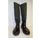 Tommy Hilfiger Boots Black & White Size: 6.5