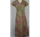 Thai Bankok Traditional Thai suit Multi coloured Size: 12