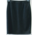Calvin Klein Lined pencil skirt Grey Size: 6