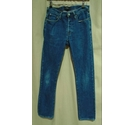 Paul Smith Cotton Straight Jeans Trousers Blue Size: 28""