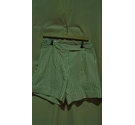 Paul Smith Belt Detail Striped Shorts Cream Tan Size: 30""
