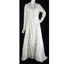 Hayley J- Size 14-Champagne-Wedding Dress with Matching Overcoat