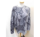 Paul Smith Red Ear Graphic Sweater Grey Size: XXL