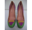 Marc Jacobs Heeled Shoes Multi-coloured Size: 4.5