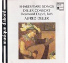 CD Shakespeare songs and consort music
