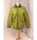 Barbour Panatone Quilted Jacket Lime Green Size: M