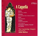 CD A Cappella Cambridge Singers