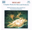 Mozart Complete Works for Horn and Orchestra CD