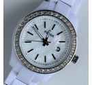 Fossil, women's Mini Stella white resin bracelet watch