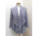New Look Cardigan Grey & Black Size: 10