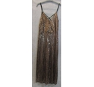 Miss Selfridge BNWT going out jumpsuit bronze metallic Size: 6