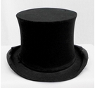 Army & Navy Cooperative Soc Collapsible Top Hat Black Size: One size