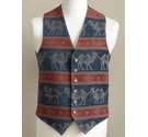 Liberty Tapestry waistcoat multi coloured Size: M