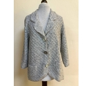 Per Una Diamond Knit Cardigan Grey Size: L
