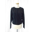 Next Emboidered Cardigan Black Size: M