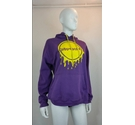 All we do purple hoody purple Size: M