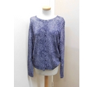 Tu Cardigan Purple & white Size: 22
